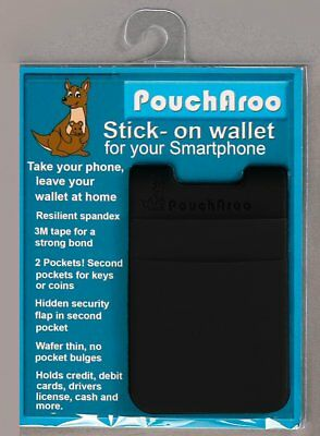 Wholesale Lot - Poucharoo Stick-On Wallet for Phone Holds 12+ Cards, Cash, Keys