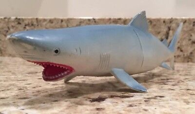 """Greenland Shark by LARAMI Toy Shark About 13 1/2"""" Long Plastic"""