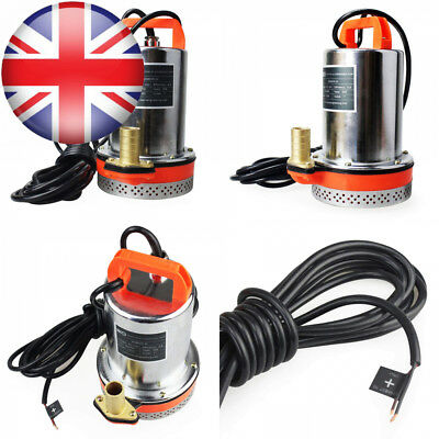 BACOENG DC 24V Submersible Water Pump Solar with 6m Cable, 30FT Lift