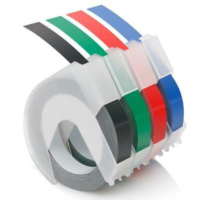 Compatible for DYMO 3D Embossing Label Tape Organizer Xpress Label Maker 4pk