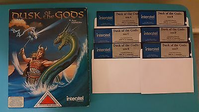 Dusk of the Gods IBM DOS Big Box PC Game Ultra Rare 1991 Event Horizon PC Games