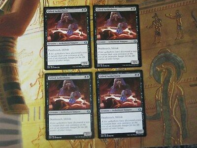 Mtg - Gifted Aetherborn x 4 - Aether Revolt  - Uncommon - NM