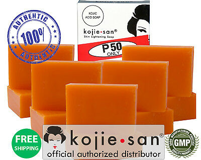 Original Kojie San Skin Lightening Soap, 10 Bars 65g - OFFICIAL USA KOJIESAN
