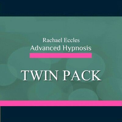 2 CD set, Positive Thinking & Set and Achieve Goals Hypnosis CDs, Rachael Eccles