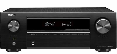 Denon AVR-X550BT 5.2 AV Receiver 4K Ultra HD Bluetooth Dolby TrueHD DTS-HD