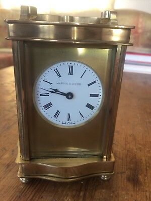 Carriage Clock By Mappin & Webb.Fully Serviced.