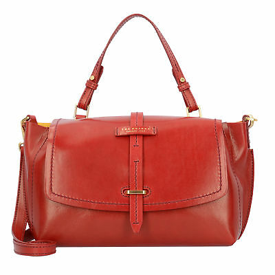 The Bridge Florentin Handtasche Henkeltasche Damen Leder 30 cm (red currant /