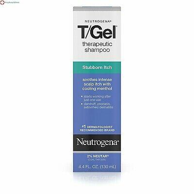 Neutrogena T/Gel Therapeutic Shampoo Stubborn Itch, 4.4 Fl. Oz