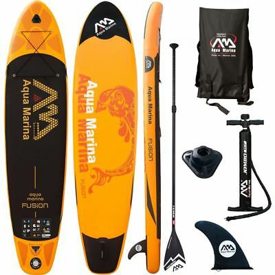 Aqua Marina SUP Board Fusion Orange 330x75x15 cm Stand Up Paddle Board Surfboard