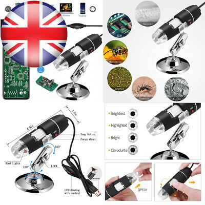 Jiusion Wifi USB Digital Handheld Microscope, 40 to 1000x Wireless...