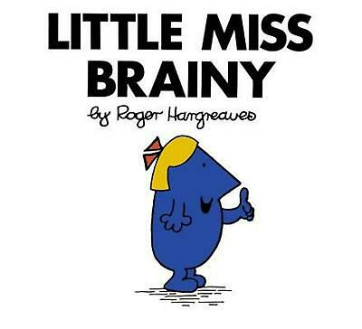 Little Miss Brainy by Roger Hargreaves (English) Paperback Book Free Shipping!