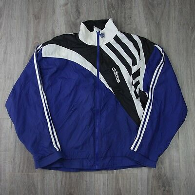 47fd817f61f0 Mens Vintage 90s Adidas Spell Out Track Tracksuit Top Jacket L Retro Shell  EQT