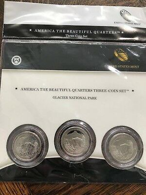2011 America The Beautiful Quarter Set PDS Proof and UNC 12 Coins