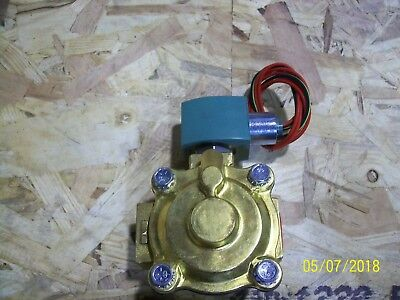 ASCO Model 8210G4 Atomizing Air Solenoid Valve, 1""