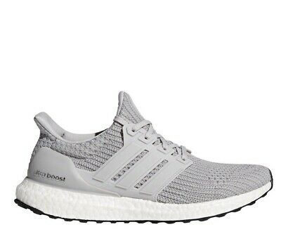 942b90d9368  BB6167  Mens Adidas UltraBoost Ultra Boost 4.0 Running Sneaker Grey White