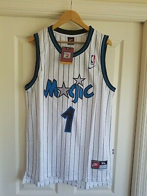 3ca9e1d8b NWT Penny Hardaway Orlando Magic Retro Throwback Jersey Stitched Size XL  White
