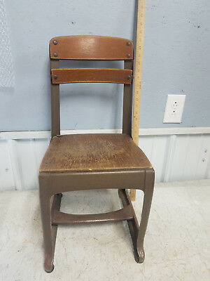 Vintage 50's Children's School Chair, American Seating Company Envoy #13