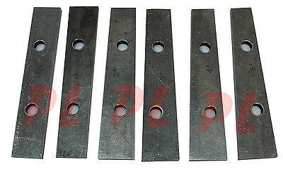 6 PC Precision Thin Angle Block 1/2 to 5 Degree Set For Vise Angle Gage Measure