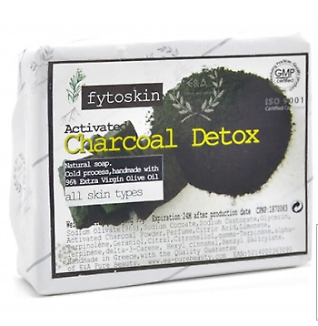 Charcoal Detox Olive Oil Soap | Activated Charcoal | Men Shaving | Vegan soap