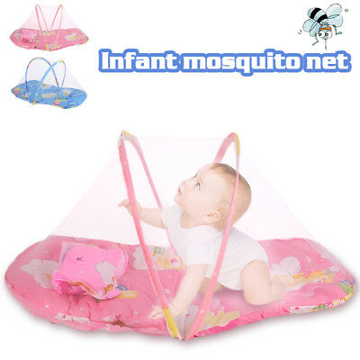 Summer Insect Infant Mosquito Net Portable 2 Colors Travl Toddler Tent