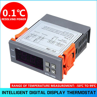Seafood Machine Automatic Conversion Temperature Controller Durable STC-1000