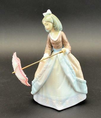 LLadro Figurine Girl with Parasol