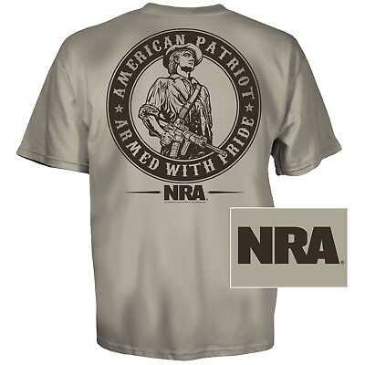 NRA Minute Man T-Shirt (XL)- Sand