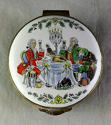 "Crummles Enamel Trinket Box ""The House of Fortnum & Mason"""