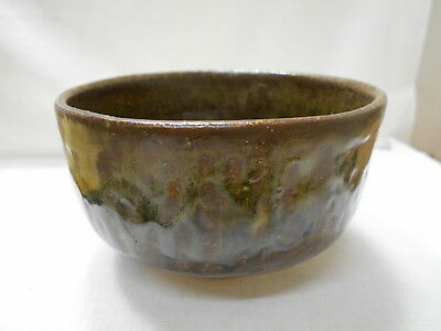 Japanese Tea Ceremony Pottery Bowl Chanoyu Traditional Vintage #141