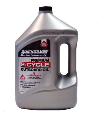 Quicksilver Premium 2-Cycle Outboard Oil Gal. FREE SHIPPING