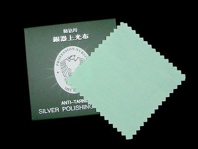 Silver Polishing Cloth Cleaner Jewellery Cleaning Cloth Anti-Tarnish Tool