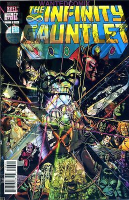 Guardians Of The Galaxy #146 Lenticular 3D Infinity Gauntlet #1 Thanos Avengers