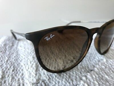 242d67cfd6 NEW RAY-BAN ERIKA Classic RB4171 710 T5 Tortoise  Brown Sunglasses ...