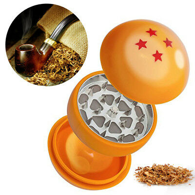 4 STAR DRAGON BALL Z Hand Muller Tobacco Crusher Smoke Herbal Herb Grinder NEW