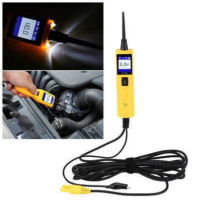 Auto Car Circuit Tester Electrical System 12V 24V Volt Power Scan AVOmeter Probe