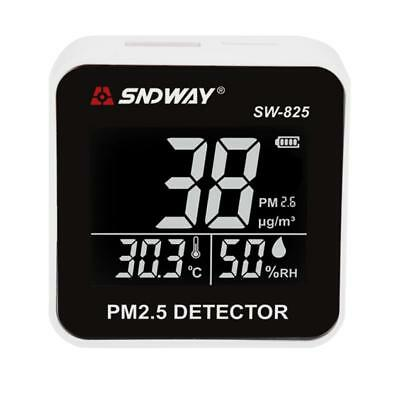 Portable Air Quality Meter Particle Monitor Detector PM2.5 with LCD Display