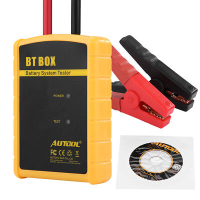 BT BOX 12V Automotive Car Battery Load System Tester Analyzer for IOS Android