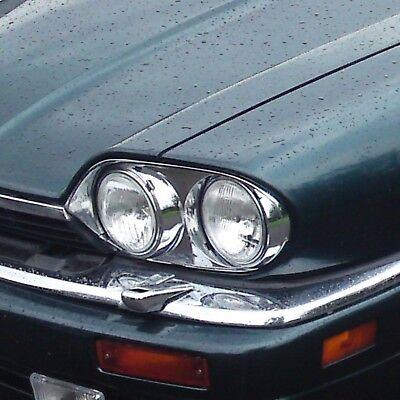 RETROFIT SET 4X HEADLIGHTS WITH BULBS Jaguar XJS With E Marks