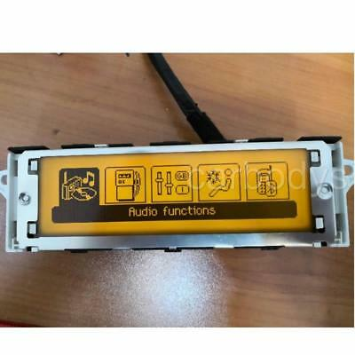 Screen Support USB & Bluetooth Display Yellow Monitor 12 Pin For Peugeot 307 407