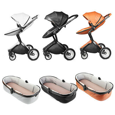 3/2 In1 Baby Kids Stroller New Mom Travel System Light Weight Portable Pram Car