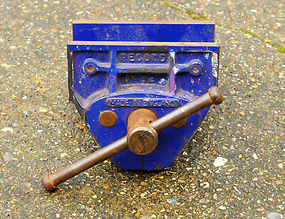 """Record No.52 Woodworking Vice - 7"""" Jaws - Made in England - Free UK delivery"""