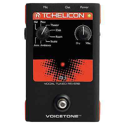 TC-Helicon TC Helicon Voicetone R1 - Vocal Tuned Reverb Stompbox