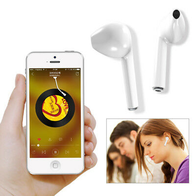 HBQ i7 TWS Wirless Earbuds Bluetooth IN-Ear Earphone with Mic For iPhone Samsung