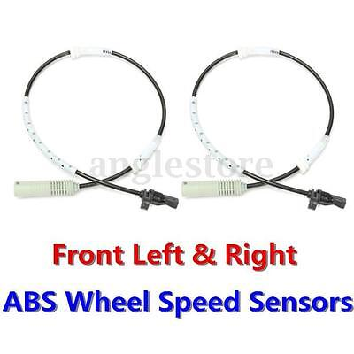 2x Front Left & Right ABS Wheel Speed Sensor For BMW E81 E87 E90 120i 325i 330i