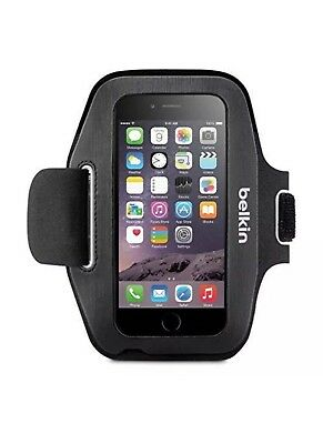 Belkin Sport-Fit Fitness Armband for iPhone 6 6s 7- Black