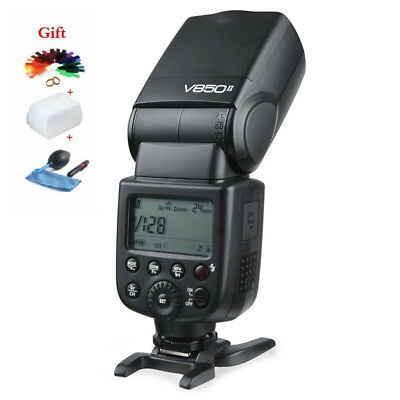 Godox V850II 5600K Camera Flash Speedlight Wireless X for Canon Nikon DSLR
