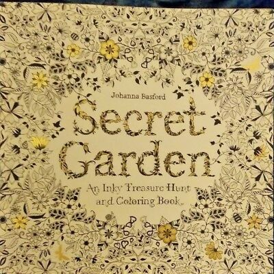 Secret Garden An Inky Treasure Hunt And Coloring Book Johanna Basford 2013