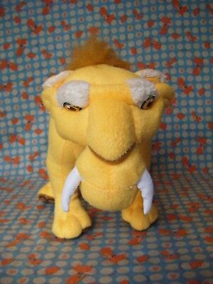 "Ice Age Diego Sabre Tooth Tiger plush soft toy 15"" long approx VGC"