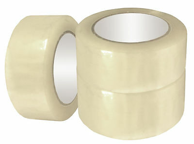 Clear Packing Tape for Packaging Cartons, Box Sealing, Moving, Shipping - BOPP