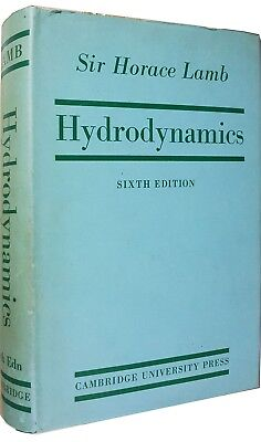 HYDRODYNAMICS Sir Horace Lamb 1945